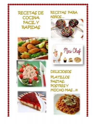 Microsoft Word Las Mejores Recetas De Cocina