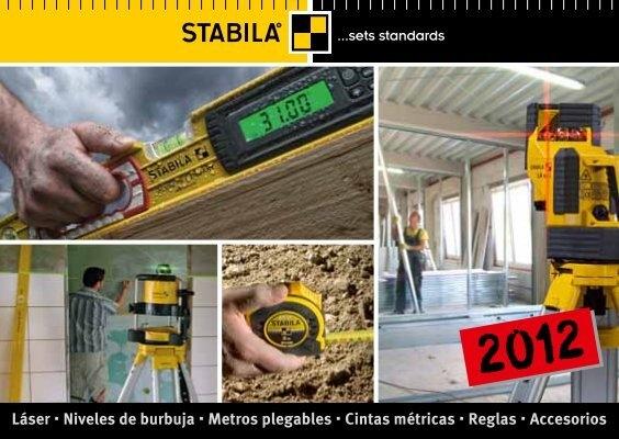 Stabila 07827 Regla de Yesero