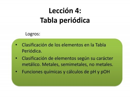 Leccion 4 tabla periodica urtaz Choice Image
