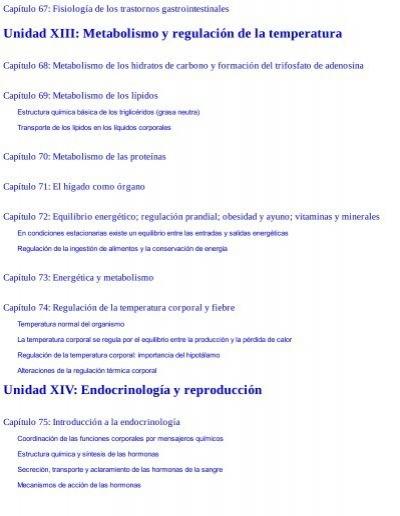 Capítulo 67: Fisiología