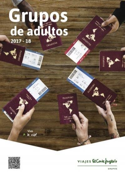 Catálogo Viajes El Corte Inglés Grupos Adultos 2017 18