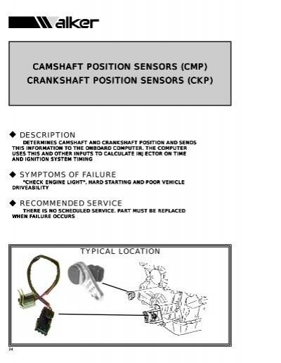 Walker Products 235-1012 Engine Crankshaft Position Sensor