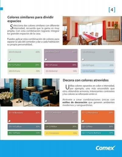 Catalogo de pinturas comex pdf top catalogo de pinturas comex pdf - Catalogo pinturas bruguer ...