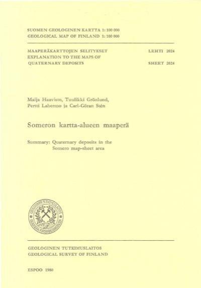 Suomen Geologinen Kartta 1 Arkisto Gsf Fi