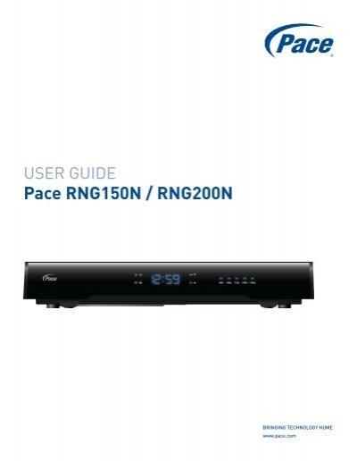 pace rng150n rng200n user guide english pace plc rh yumpu com pace dc50x remote manual pace dc50x remote manual