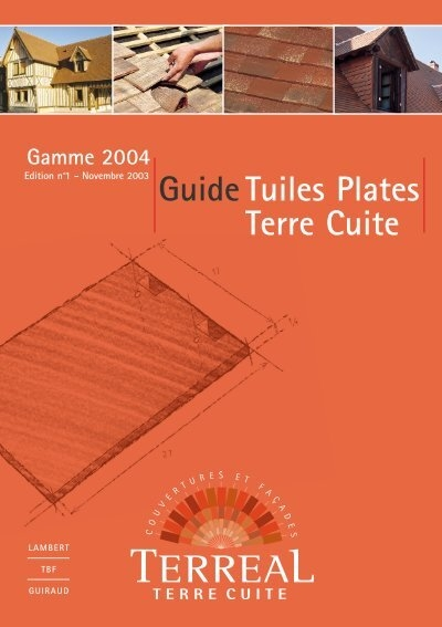 Guide tuiles plates terre cuite point p - Tuile plate terre cuite ...