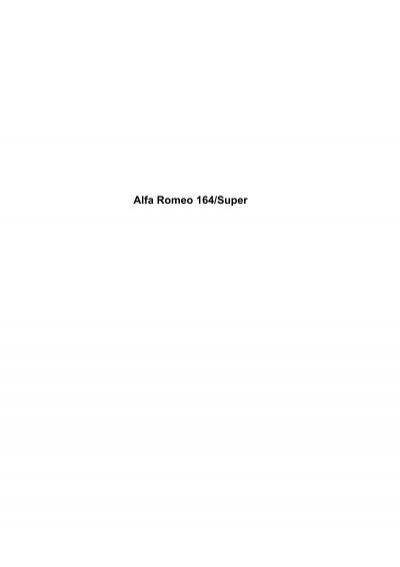 Kit de montage plaquettes de freins frein arriere alfa romeo 145 146 155 164