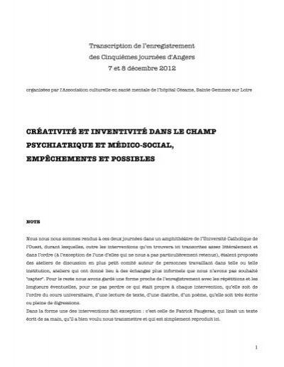 Transcription Journees D Angers 2012 Pdf Inter Seminaire