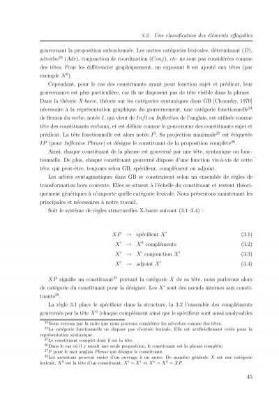 arbre syntaxique phrase complexe pdf