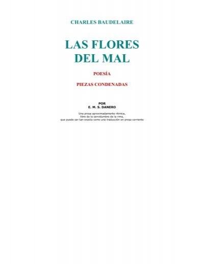 Charles Baudelaire Las Flores Del Mal