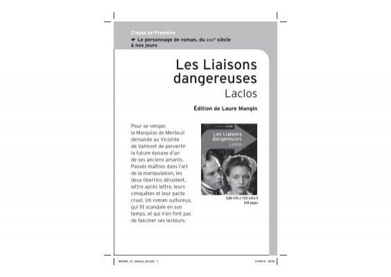 les liaisons dangereuses english translation pdf