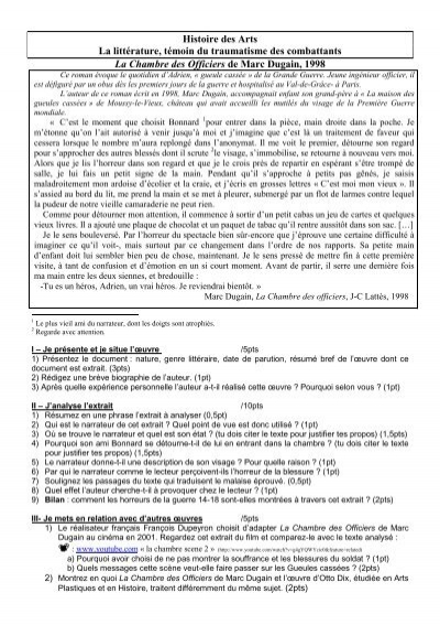 ... La Chambre Des Officiers De Marc Dugain Weblettres   Dugain La Chambre  Des Officiers .