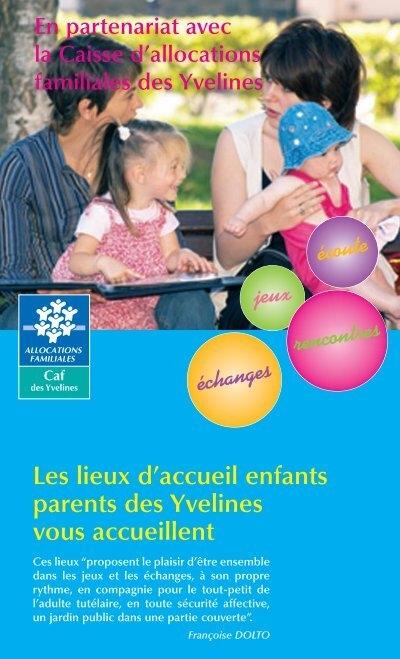 Les lieux d 39 accueil enfants parents des yvelines for Lieux touristiques yvelines