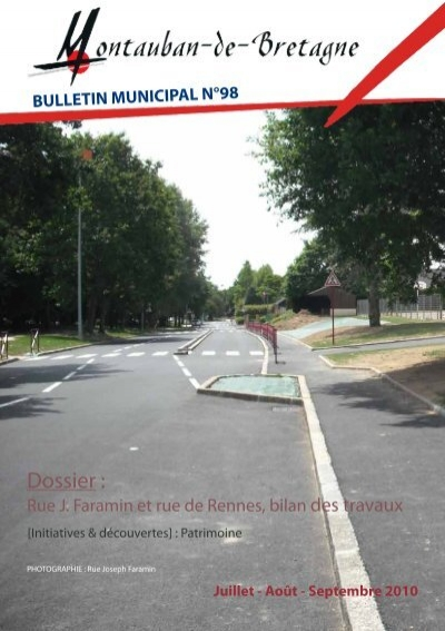 N°9 - Juillet - Août - Septembre - Montauban-de-Bretagne