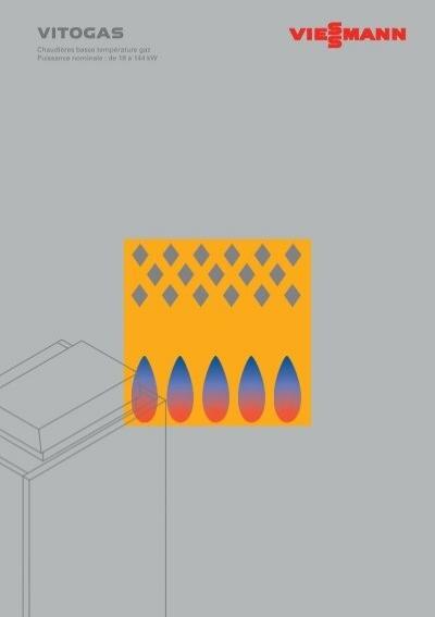 Chaudi res basse temp rature gaz vitogas viessmann for Chaudiere basse temperature viessmann