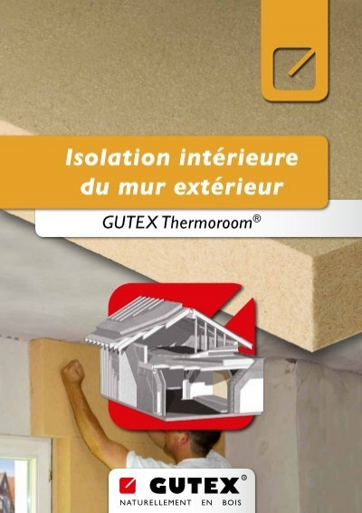 Isolation int rieure du mur ext rieur gutex for Isolation phonique mur exterieur