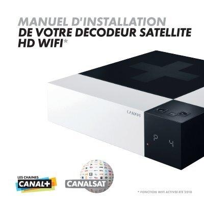Manuel d 39 installation de votre d codeur satellite hd wifi - Decodeur satellite hd ...