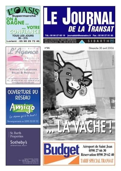 De la transat st barths online - Le journal de saint barth ...