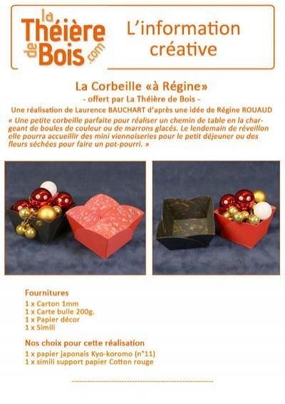 Corbeilleà Régine La Théi u00e8re de Bois # La Theiere De Bois Versailles