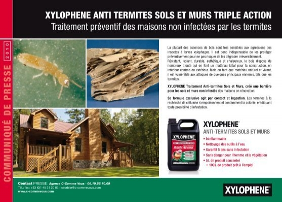 anti termites sols et murs dyrup. Black Bedroom Furniture Sets. Home Design Ideas