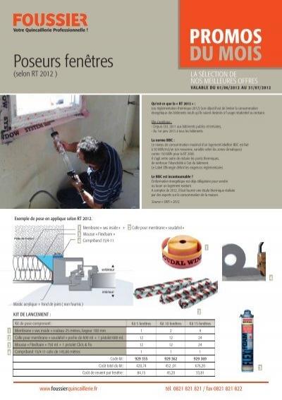 Promos Du Mois Foussier Quincaillerie