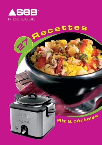 livre de recettes seb rice cooker. Black Bedroom Furniture Sets. Home Design Ideas