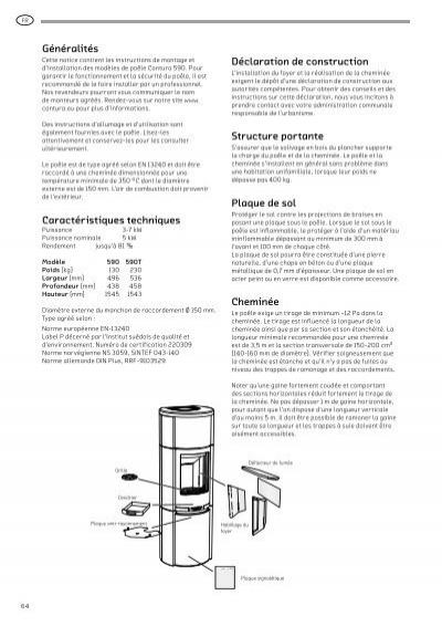 Contura 590 manual
