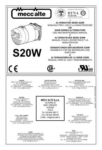 I alternatori serie ar1 gb ar1 series mecc alte spa mecc alte spa winco generators asfbconference2016 Image collections