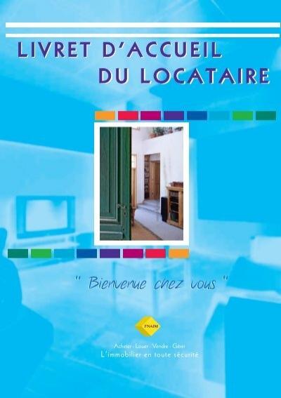 Livret d 39 accueil du locataire jacob immobilier - Entretien du locataire ...