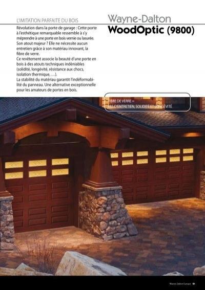 La motorisation w - Motorisation porte de garage sectionnelle wayne dalton ...