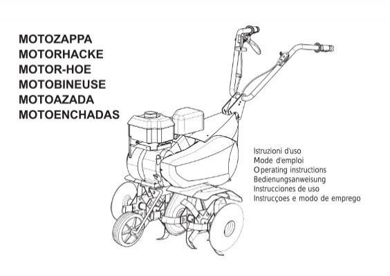 Gerät der Sicherheit Komplett für Motozappa Benzin D.28MM