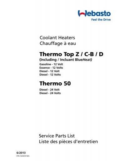blueheat thermo top owner s manual rh yumpu com Espar Heater Boat Heater