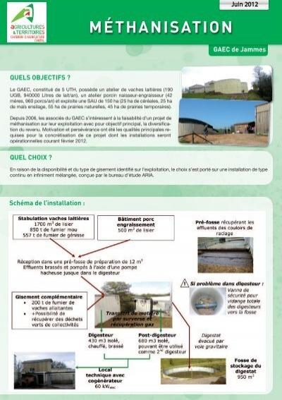 Exemple dans le cantal 60 kw chambre d 39 agriculture de for Chambre d agriculture luxembourg