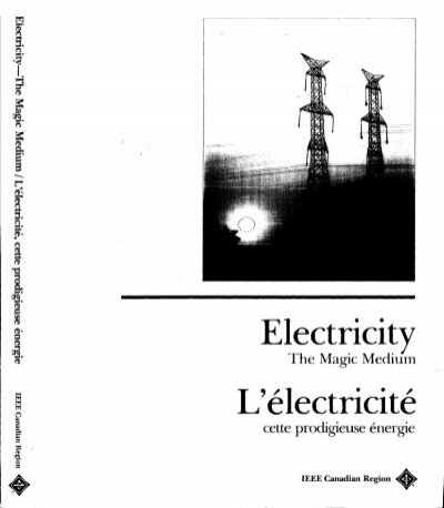 Electricity L'electricite IEEE Global History Network