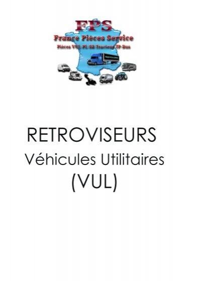 Complet rétroviseur droite Peugeot Expert 96=/>06