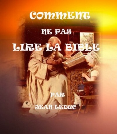 comment lire la bible pdf
