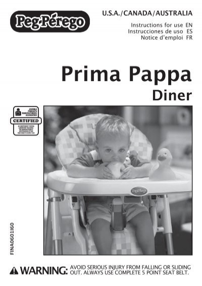 Chaise haute prima pappa diner 28 images chaise haute for Chaise haute prima pappa peg perego