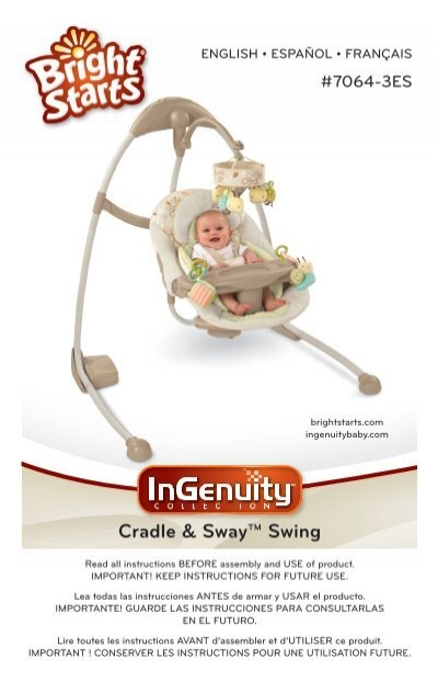 Cradle Sway Swing Kids Ii