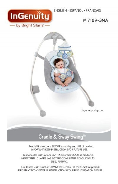 Cradle Sway Swingtm Kids Ii