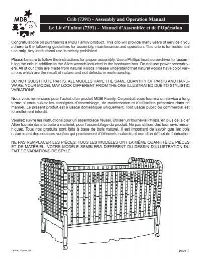 crib 3201 assembly and operation manual davinci baby rh yumpu com Philips TV Manual Philips Universal Remote User Manual