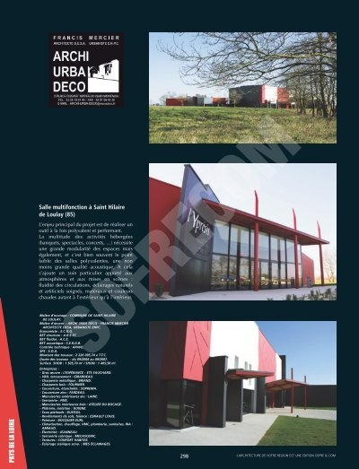94>99•SAHUC & KATCHOURA--IDF10-6345:Mise ... - L\'Architecture