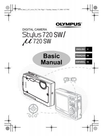 stylus 720 sw manual b sico olympus rh yumpu com Olympus Cameras Olympus Digital Camera
