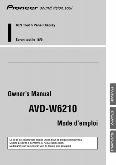 pioneer avd w6210 user guide browse manual guides u2022 rh npiplus co