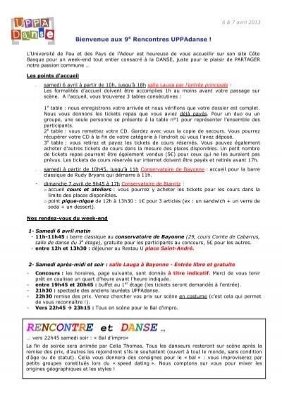 Rencontres Uppadanse – cheztoga.fr