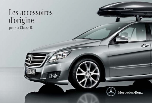 les accessoires d origine pour la classe r mercedes benz france. Black Bedroom Furniture Sets. Home Design Ideas