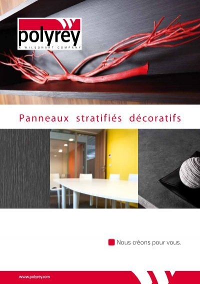 panneaux stratifi s d coratifs untec. Black Bedroom Furniture Sets. Home Design Ideas
