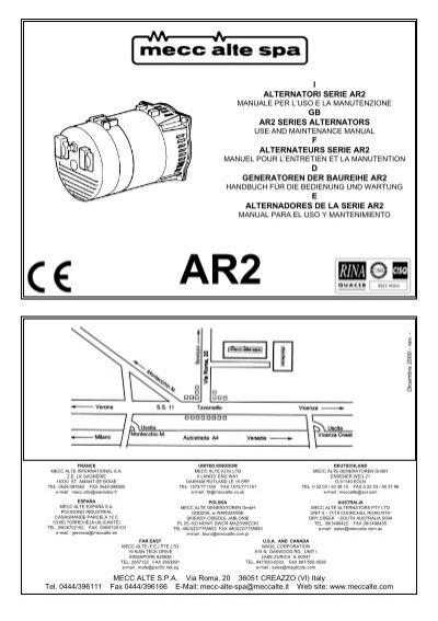 100 ideas mecc alte alternator wiring diagram on worksheetcwnload i alternatori serie ar2 gb ar2 series winco generators asfbconference2016 Images