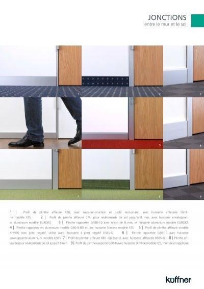 les mod les plinthes en. Black Bedroom Furniture Sets. Home Design Ideas