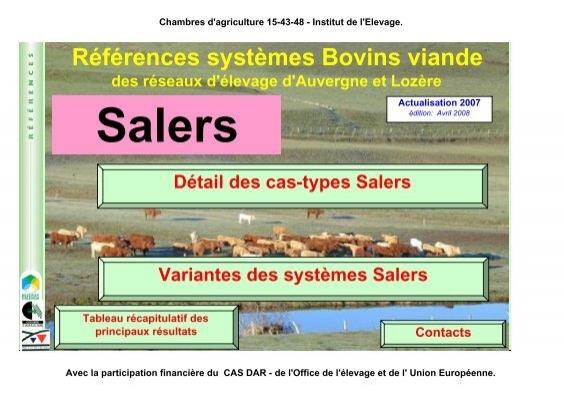 Elevage auvergne loz re chambre d 39 agriculture du cantal for Chambre agriculture auvergne