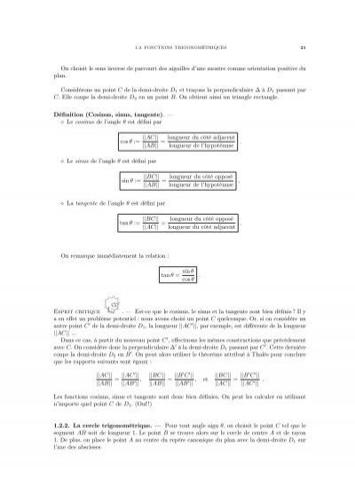 Tutorat A+ Tutoring - Résumé pour Algèbre LinéaireTutorat ...